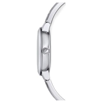 Hodinky Cosmic Rock, s kovovým páskem, bílé, nerezová ocel - Swarovski, 5376080