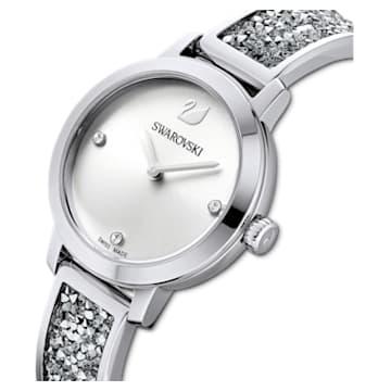 Relógio Cosmic Rock, pulseira em metal, branco, aço inoxidável - Swarovski, 5376080