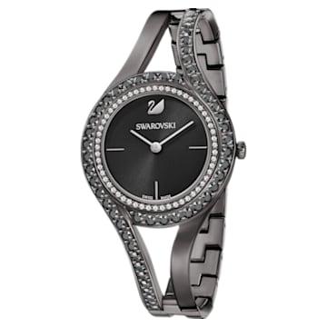 Eternal Uhr, Metallarmband, schwarz, Gun-Metal PVD-Finish - Swarovski, 5376659