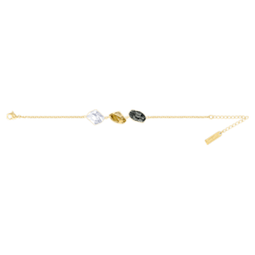 Bracelet Prisma, multicolore, Métal doré - Swarovski, 5377981