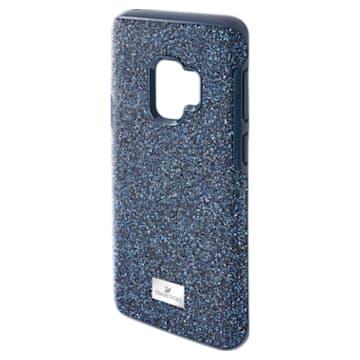 High 智能手機防震保護套, Galaxy S®9, 藍色 - Swarovski, 5380300
