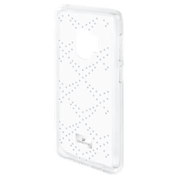 Hillcock Smartphone Case with Bumper, Samsung Galaxy S® 9, Transparent - Swarovski, 5380307