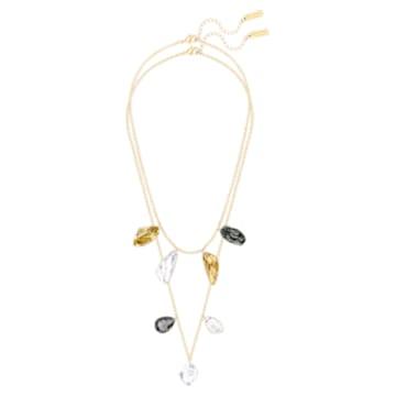 Prisma Versatile Necklace, Multi-coloured, Gold-tone plated - Swarovski, 5385837