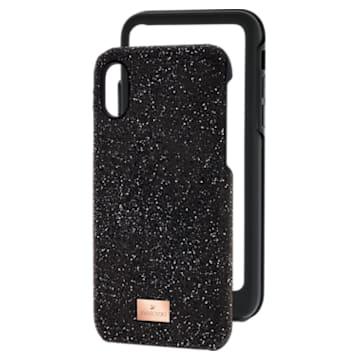 High 智能手机防震保护套, iPhone® X/XS, 黑色 - Swarovski, 5392040