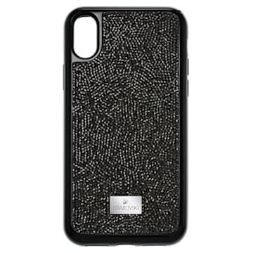 Glam Rock smartphone case, iPhone® X/XS, Black - Swarovski, 5392050