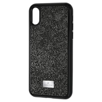 Glam Rock 智能手机防震保护套, iPhone® X/XS, 黑色 - Swarovski, 5392050