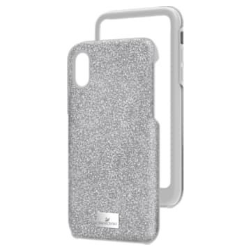 High 智能手机防震保护套, iPhone® X/XS, 灰色 - Swarovski, 5393906