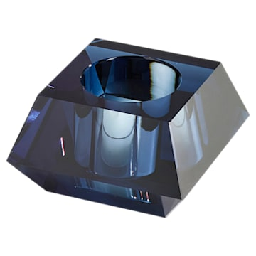Lumen 正方形切割, 烛台, 蓝色 - Swarovski, 5398638