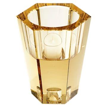 Bougeoir réversible Lumen, ton doré - Swarovski, 5399197