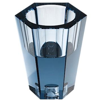 Lumen Wendbare Vase, klein, blau - Swarovski, 5399199