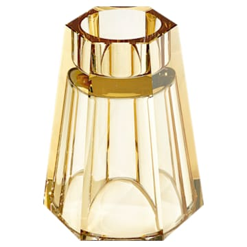 Lumen Reversible Vase, Medium, Gold tone - Swarovski, 5399201