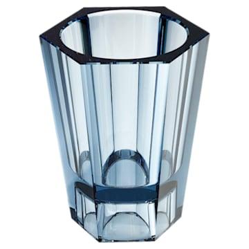 Lumen Reversible Vase, Medium, Blue - Swarovski, 5399205