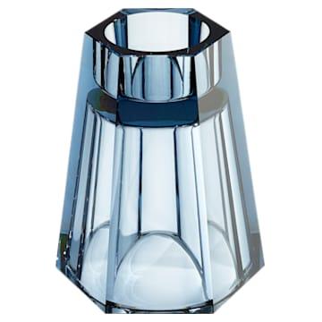Vase réversible Lumen, medium, bleu - Swarovski, 5399205