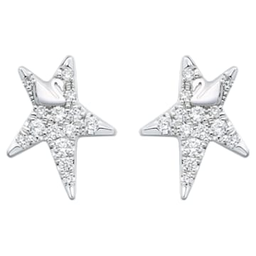 Wishful Star Stud Earrings - Swarovski, 5401310