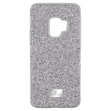 High Smartphone Case with Bumper, Samsung Galaxy S® 9, Gray - Swarovski, 5409455