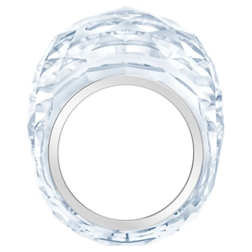 Δαχτυλίδι Swarovski Nirvana, ασημί απόχρωση, ανοξείδωτο ατσάλι - Swarovski, 5410311