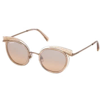 Sluneční brýle Swarovski, SK0169 – 72G, broskvové - Swarovski, 5411617