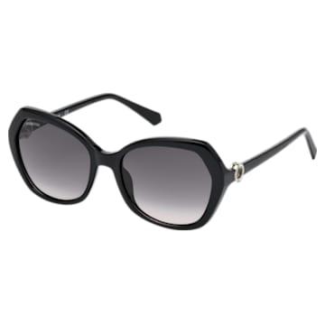 Swarovski Sonnenbrille, SK0165 - 01B , Schwarz - Swarovski, 5411618