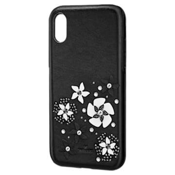 Mazy Smartphone Case with integrated Bumper, iPhone® X/XS, Black - Swarovski, 5413899