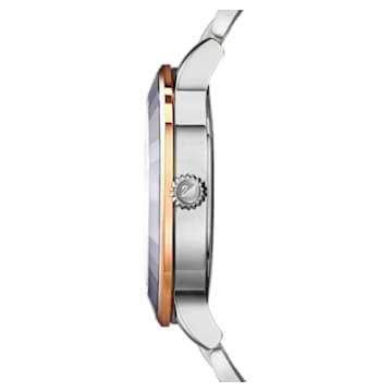 Octea Lux karóra, fém karkötő, nemesacél - Swarovski, 5414429