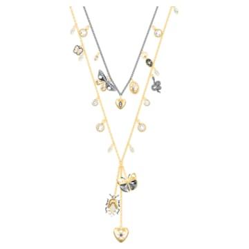 Magnetic Necklace, Multi-coloured, Mixed metal finish - Swarovski, 5416699