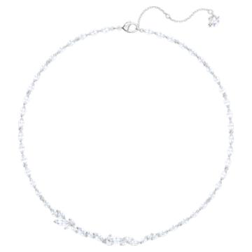 Collier Louison, blanc, Métal rhodié - Swarovski, 5419235