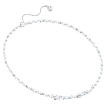 Louison 项链, 白色, 镀铑 - Swarovski, 5419235