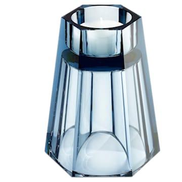 Lumen Wendbare Vase, groß, blau - Swarovski, 5421113