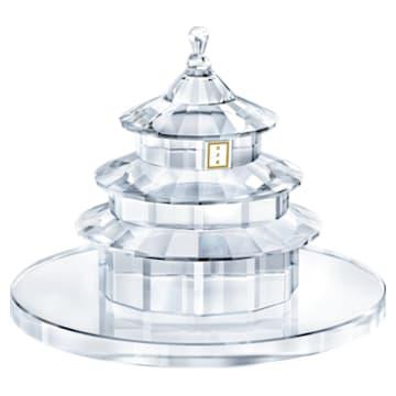 Temple of Heaven 裝飾, 白色 - Swarovski, 5428032