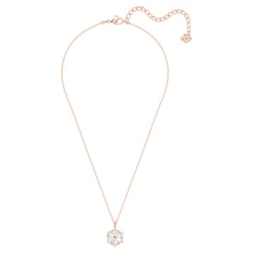 Magic Pendant, White, Rose-gold tone plated - Swarovski, 5428431