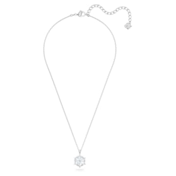 Magic Pendant, White, Rhodium plated - Swarovski, 5428432