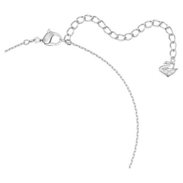 Magic 鏈墜, 白色, 鍍白金色 - Swarovski, 5428432