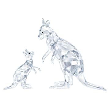 Maman Kangourou et son Bébé - Swarovski, 5428563