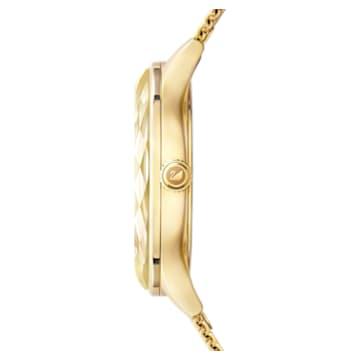 Octea Nova Uhr, Milanaise-Armband, Goldfarben, Vergoldetes PVD-Finish - Swarovski, 5430417