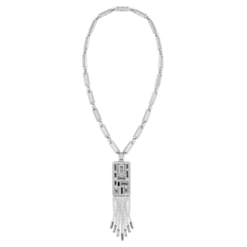 Mosaic Necklace, Swarovski Crystal & Swarovski Created Diamonds, 18K White Gold - Swarovski, 5430489