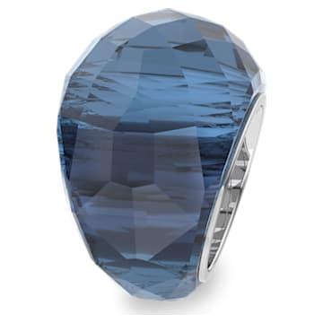 Δαχτυλίδι Swarovski Nirvana, μπλε, ανοξείδωτο ατσάλι - Swarovski, 5432195