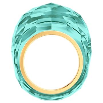 Swarovski Nirvana Ring, türkis, Vergoldetes PVD-Finish - Swarovski, 5432206