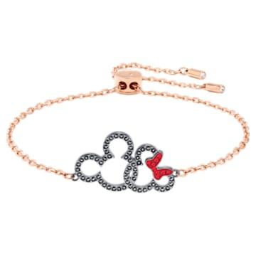 Micky & Minnie Armband, mehrfarbig, Metallmix - Swarovski, 5435138