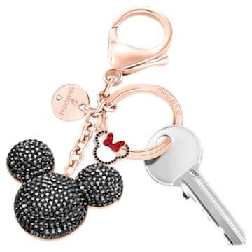 Mickey Bag charm, Black - Swarovski, 5435473