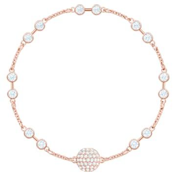 Swarovski Remix Collection Carrier, Белый Кристалл, Покрытие оттенка розового золота - Swarovski, 5435651