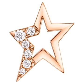 Just Myself Star Earring - Swarovski, 5436247