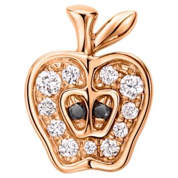 Just Myself Cut Apple Earring - Swarovski, 5436251