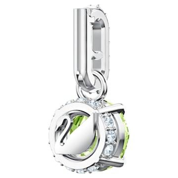 Swarovski Remix Collection Charm, 八月, 浅绿色, 镀铑 - Swarovski, 5437317