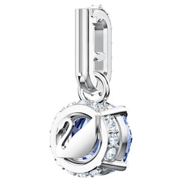 Swarovski Remix Collection Charm, septiembre, azul oscuro, Baño de Rodio - Swarovski, 5437319