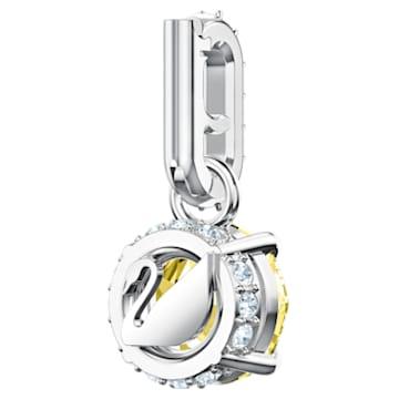 Swarovski Remix Collection Charm, 十一月, 黃色, 鍍白金色 - Swarovski, 5437326