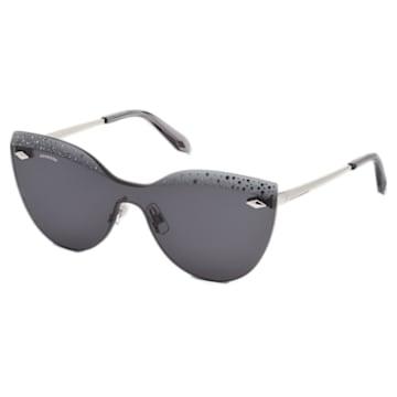Moselle Mask Sunglasses, SK160-P 16A, Gray - Swarovski, 5443913
