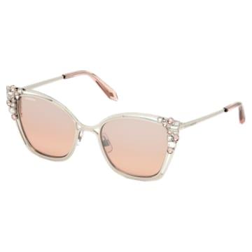 Nile Cat Eye Sunglasses, SK163-P 16Z, Beige - Swarovski, 5443926