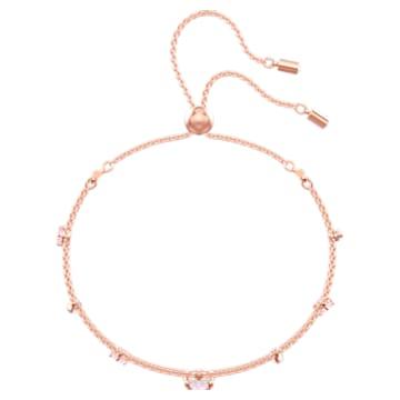 One Armband, Mehrfarbig, Roségold-Legierungsschicht - Swarovski, 5446304