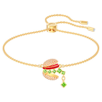 Set Nicest, Multicoloră, Placat cu auriu - Swarovski, 5448916