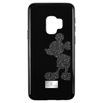 Mickey Body Smartphone Case with integrated Bumper, Galaxy S®9, Black - Swarovski, 5449138